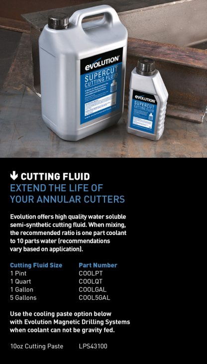 evolution cooling fluid