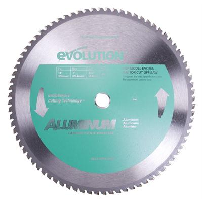 Evolution 14 Inch Aluminum Cutting Blade Jr Machinery