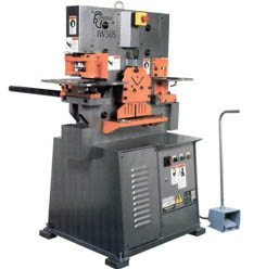 Spartan Single Cylinder Ironworker Tooling