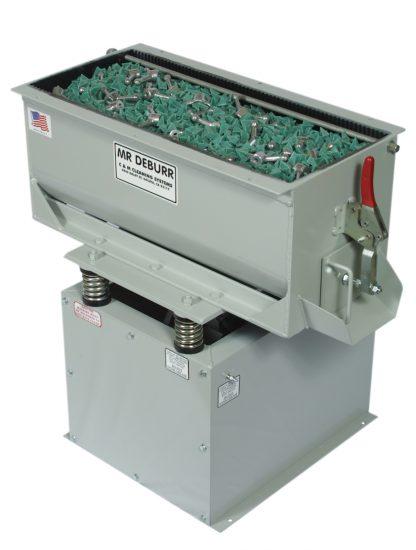 mr deburr 300 db vibratory tank
