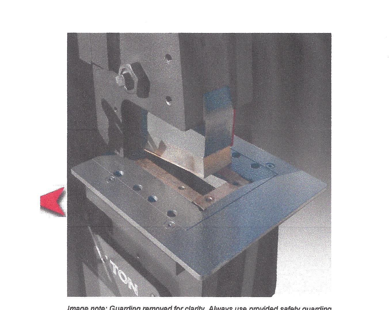 Edwards replacement Coper Notcher Blades for 25, 40 and 55 ton machines