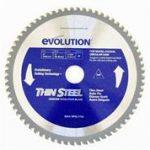evolution 9 in thin steel blade
